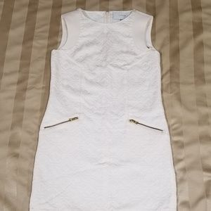 J Crew Off-White Sleeveless Dress - Size XS